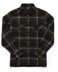 Sebago Swan L/s Check Shirt - Black