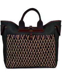 Brady Shopper Netted Bag - Black