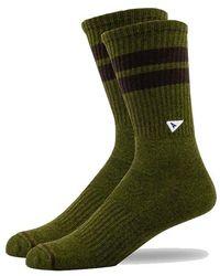 Arvin Goods Crew Socks - Green