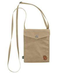 Fjallraven Pocket Shoulder Bag - Natural