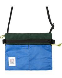 Topo Accessory Shoulder Bag Forest - Blue