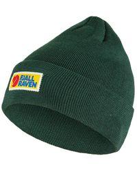 Fjallraven Vardag Classic Beanie Hat Arctic Green