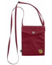 Fjallraven Pocket Shoulder Bag - Red