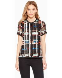 Parker - Shelly Beaded Top - Lyst