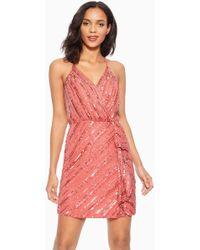 fcf8dca57a5 Boohoo Shay Oversized Cricket Knit Jumper Dress - Lyst