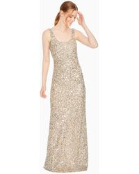 Parker Nicolette Dress - Metallic