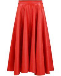 Emilio Pucci Circle Skirt Red