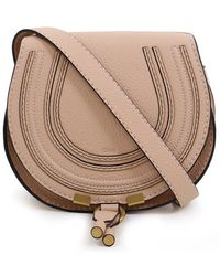 Chloé - Marcie Small Bag Blush Nude - Lyst