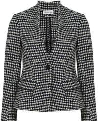 Isabel Marant - Etoile Lardy Jacket Check Print Black - Lyst