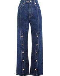 Ellery X Slvrlake Stagecoach Jeans Western Promises - Blue