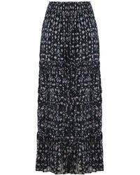Étoile Isabel Marant Etoile Eiona Maxi Skirt Dark Midnight - Blue