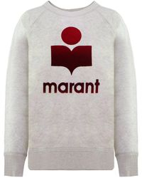 Isabel Marant Etoile Milly Sweatshirt Ecru - Multicolor