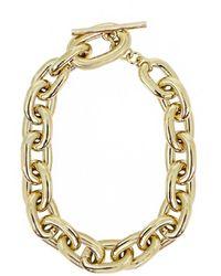 Paco Rabanne Chain Link Choker Gold - Metallic
