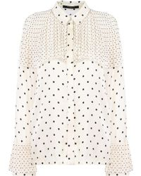 Mother Of Pearl - L/s Jasper Shirt Ivory Polka Dot - Lyst
