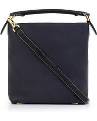 Loewe - T Bucket Small Bag Midnight Blue/black - Lyst