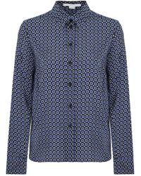 Tie Print printed silk shirt Stella McCartney Buy Cheap Original UcorndUDxn