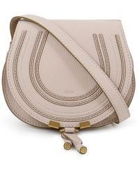 Chloé - Marcie Small Bag Abstract White - Lyst