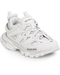 Balenciaga Track.2 Mesh And Nylon Trainers - White