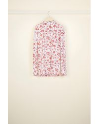 Patou Embroidered Logo Shirt In Organic Cotton - Multicolour