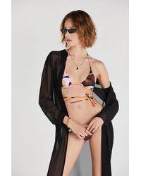 Patrizia Pepe Costume top bikini - Nero