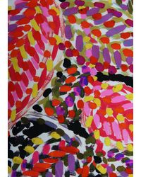 Paula Hian One-of-a-kind Signature Original Print Protective Face Mask - Multicolor