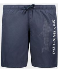 Paul & Shark Costume da bagno con Logo reflex - Blu