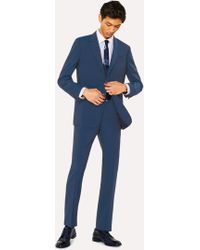 Paul Smith - Tailored-Fit Prussian Blue Wool-Mohair Suit - Lyst