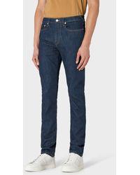 Paul Smith Skinny-fit Indigo 'reflex Super Stretch' Jeans - Blue