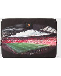 Paul Smith & Manchester United – 'stadium' Print Laptop Sleeve - Multicolour