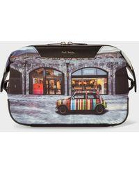 Paul Smith 'mini Kings Cross' Canvas Wash Bag - Multicolour