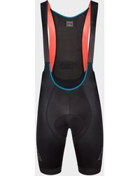 Paul Smith Black Cycling Bib Shorts