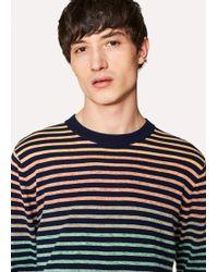Paul Smith - Multi-Colour Stripe Sweater - Lyst