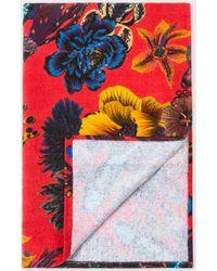 Paul Smith - 'Ocean' Red Beach Towel - Lyst