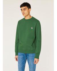 15abf348 Paul Smith Men's Blue 'cycle Stripe' Print Organic-cotton Sweatshirt ...