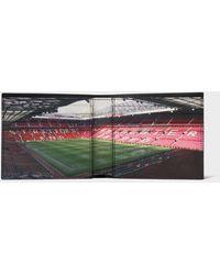 Paul Smith & Manchester United – Portefeuille Billfold Intérieur 'Stadium' - Multicolore