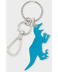 Paul Smith Turquoise 'dino' Keyring - Multicolor