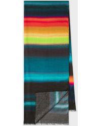 Paul Smith 'horizon' Stripe Scarf - Multicolour