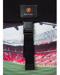 Paul Smith & Manchester United – 'stadium' Print Backpack - Black