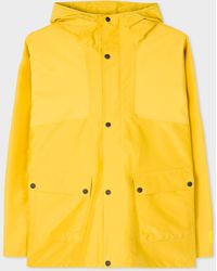 Paul Smith Yellow Recycled-polyester Waterproof Jacket