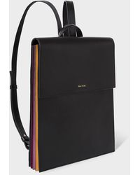 Paul Smith - Concertina Logo Backpack - Lyst