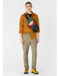 Paul Smith 'horizon' Canvas Sling Bag - Multicolor