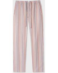 Paul Smith Signature Stripe Pyjama Bottoms - Multicolour