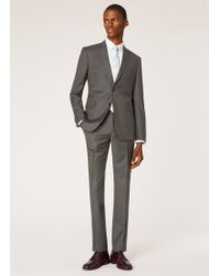 Paul Smith - Slim-fit Charcoal Grey Wool Two-button Suit - Lyst