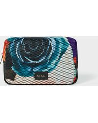Paul Smith - 'Rose Collage' Print Mesh Wash Bag - Lyst