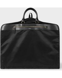 Paul Smith - Black Suit Carrier With Leather Trims - Lyst