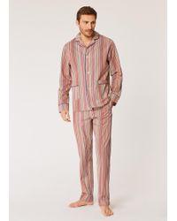 Paul Smith - Signature Stripe Cotton Pyjama Set - Lyst