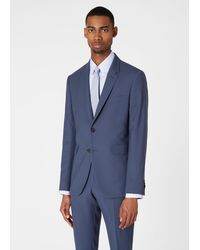 Paul Smith The Kensington - Slim-fit Slate Grey 'a Suit To Travel In'