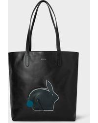 Paul Smith Women s Grey Leather  hobo  Bag in Gray - Lyst 1013db3038