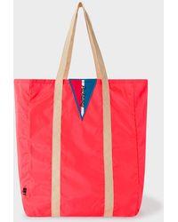 Paul Smith - Red Packaway Tote Bag - Lyst