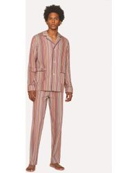 Paul Smith - Ensemble De Pyjama À Rayures 'Signature Stripe' En Coton - Lyst